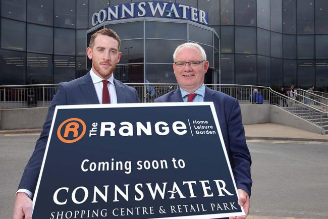 1920edff44b5 The Range announced as new anchor tenant at Connswater Shopping Complex